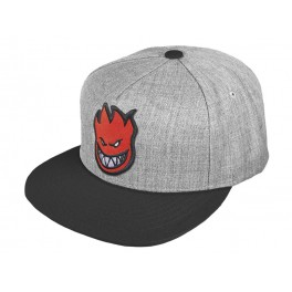 Spitfire Snapback grey black red