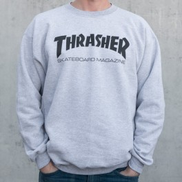 Thrasher sweat gris