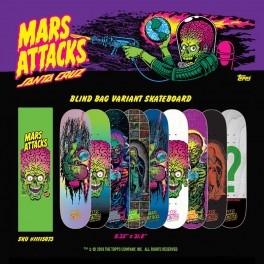 Santa Cruz serie Mars attacks