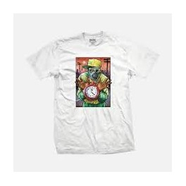 DGK Tshirt - Time Peace white