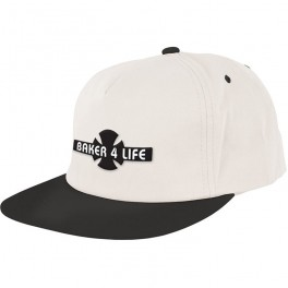 Casquette independent X baker life white