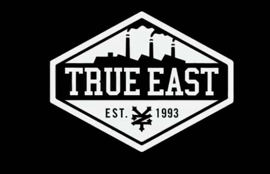 True-east