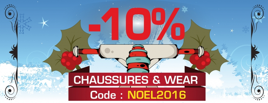 Réduction 10% noel 2016