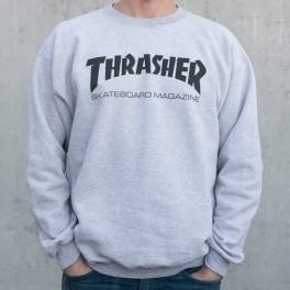 Thrasher sweat gris