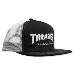 Thrasher casquette logo  noir et blanche
