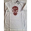 T-Shirt Circa Skull white